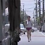 【動画】ジョギング中の汗だく女子とお仕事中の汗だくトラックの運ちゃんが出会った・・・