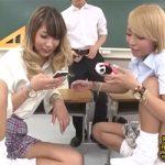 【底辺高校】「今?チンポハメてるよ!」教室でケータイ片手にセックスするクソビッチなDQNギャルJKwwwww