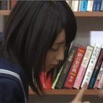 【拾い食い】図書館の本棚からチンコが生えてたので・・・とりあえずパックンしてみた(笑)