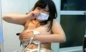 【ライブチャット】ぽちゃ巨乳の女の子が彼氏とラブラブ配信する様子