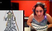 【Twitch】ぽっちゃりした女性配信者がうっかりおっぱいを見せてしまうハプニング