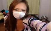 【ライブチャットエロ動画】北千住辺りのいかがわしいお店で働いてそうな雰囲気の女の子