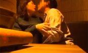 【個人撮影】居酒屋でセックスまでするキチ●イカップル