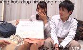【NTR動画】結婚4年目の巨乳人妻、夫の目の前で中出しされ最後はお掃除フェラまでしてしまうwwwww