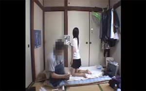 【家出少女シリーズ】出会い系サイトで知り合った少女を自宅に呼び性的行為を行った男